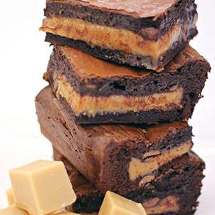 Modo Mio Naked: Gluten Free Kitchen - Salted Caramel Brownies